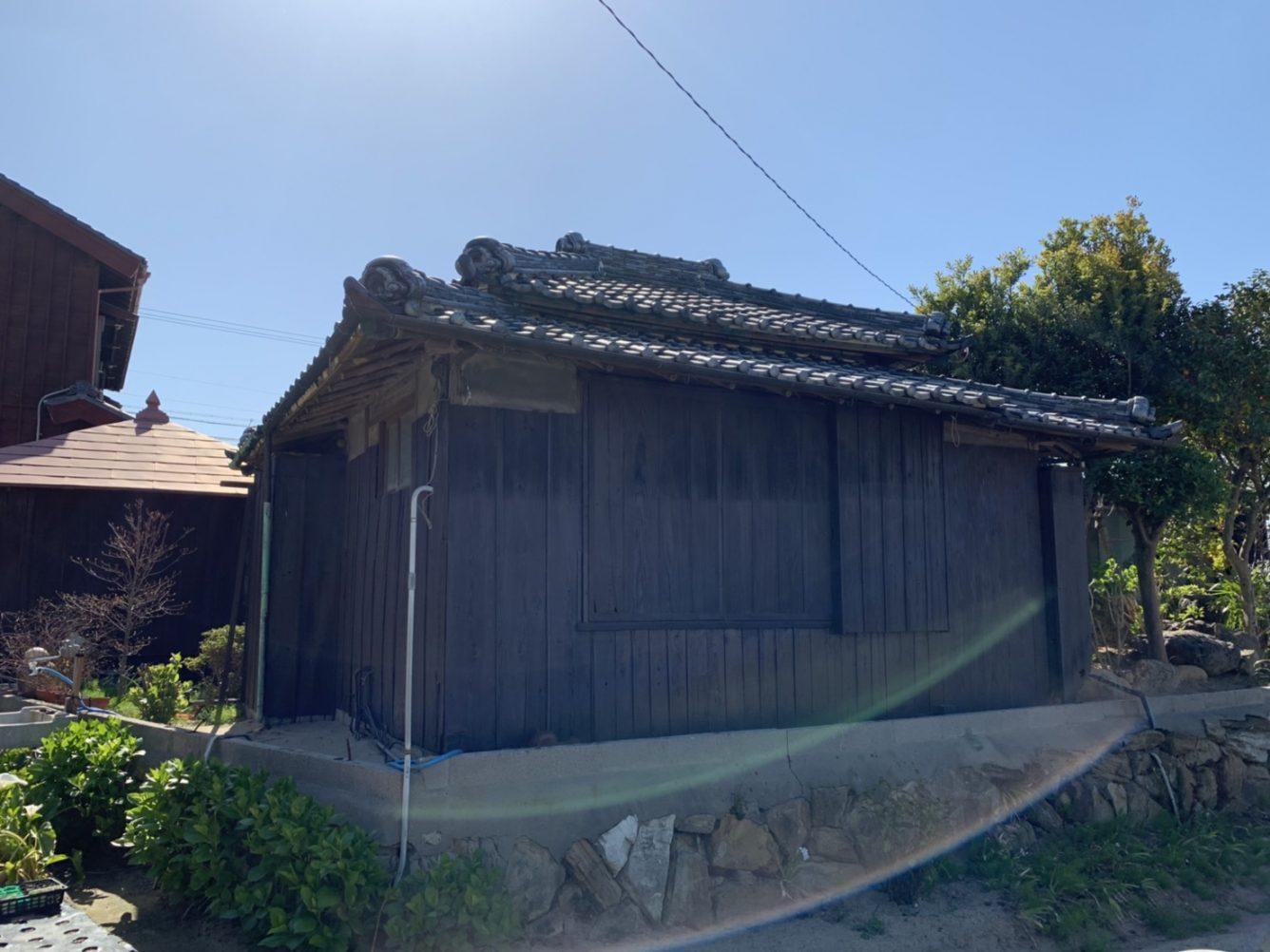 木造瓦葺平屋建住宅解体工事・愛知県美浜町