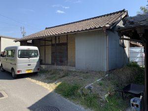 木造瓦葺平屋建倉庫解体工事・愛知県知多市