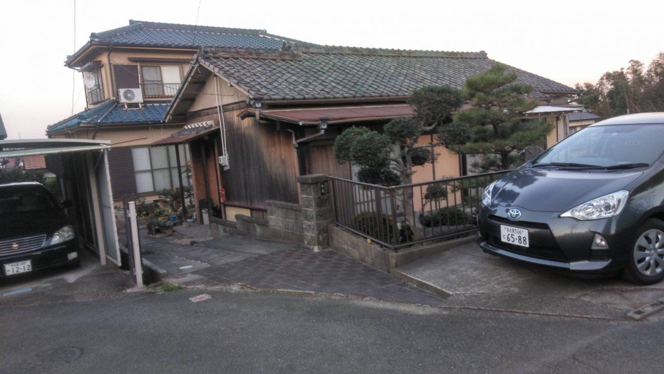 住宅解体工事及び駐車場工事・愛知県知多市