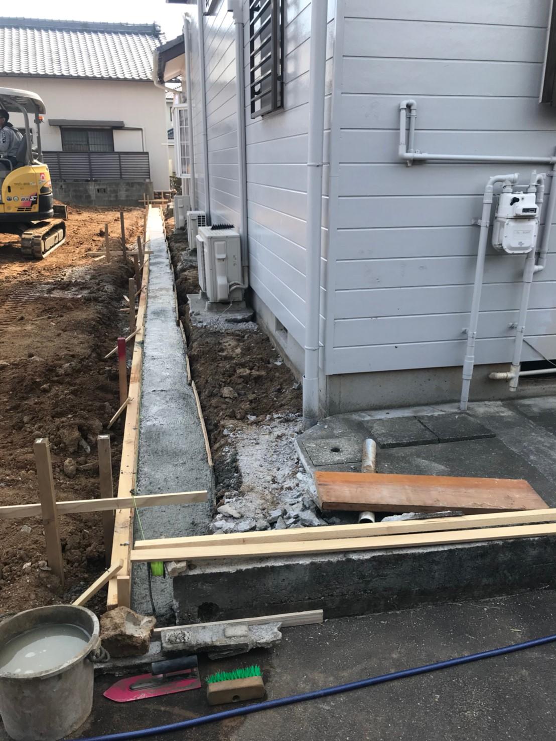 エクステリア外構工事(フェンス設置等)・愛知県安城市桜井町