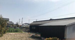 木造瓦葺平屋建農業倉庫解体工事・愛知県西尾市上矢田町