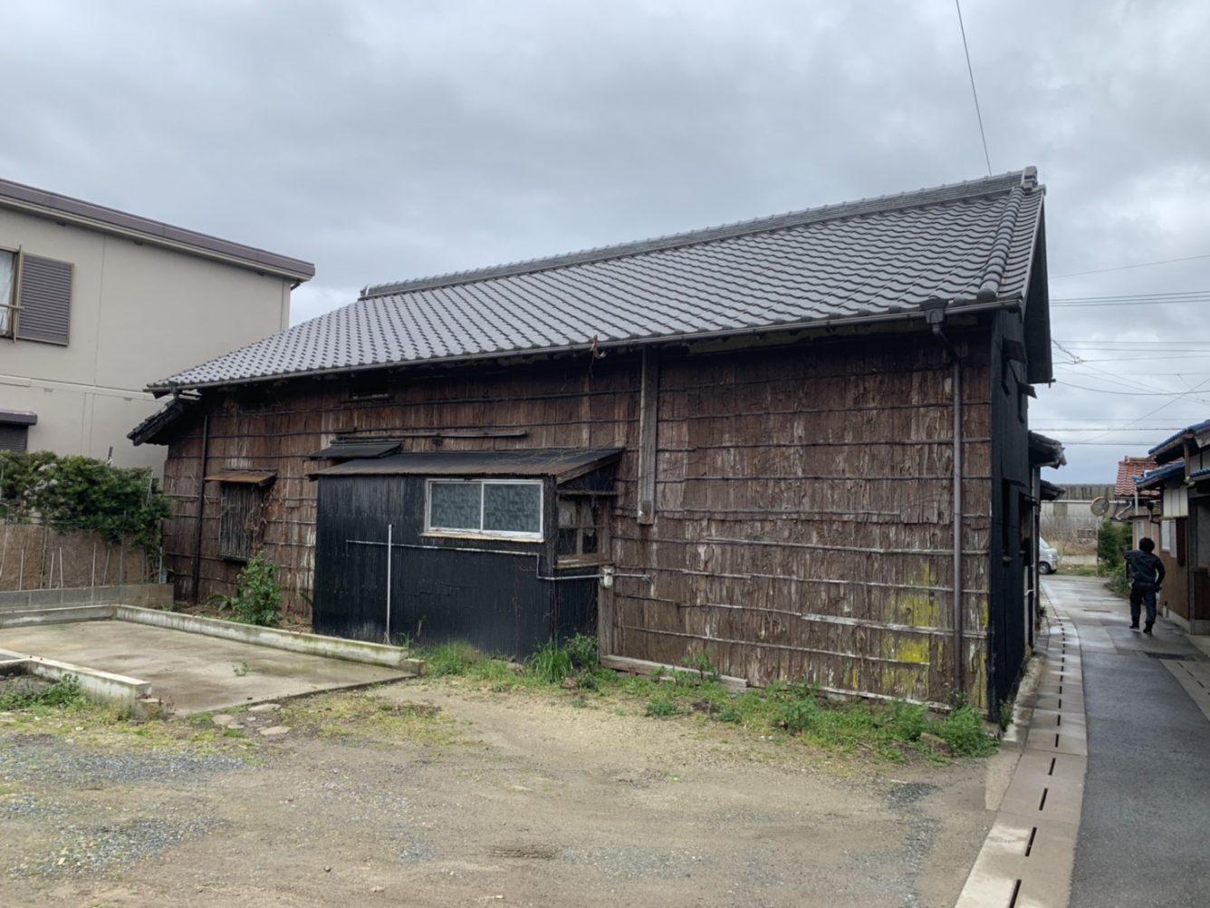 木造瓦葺平屋建住宅解体工事・愛知県知多郡南知多町内海