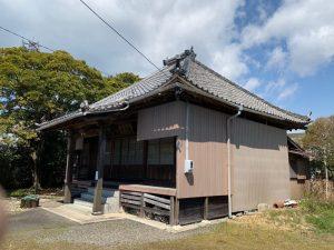 木造瓦葺平屋建寺院解体工事・愛知県知多郡南知多町内海