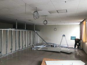事務所内装解体工事・滋賀県長浜市