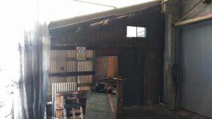 木造倉庫解体工事・愛知県常滑市小林町