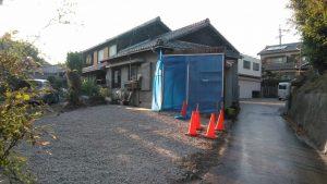 鉄骨造車庫解体工事・知多郡東浦町石浜