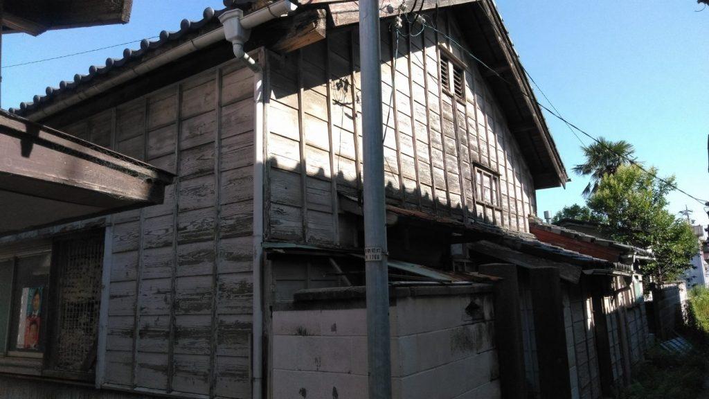 木造瓦葺平屋建住宅解体工事・半田市新栄町