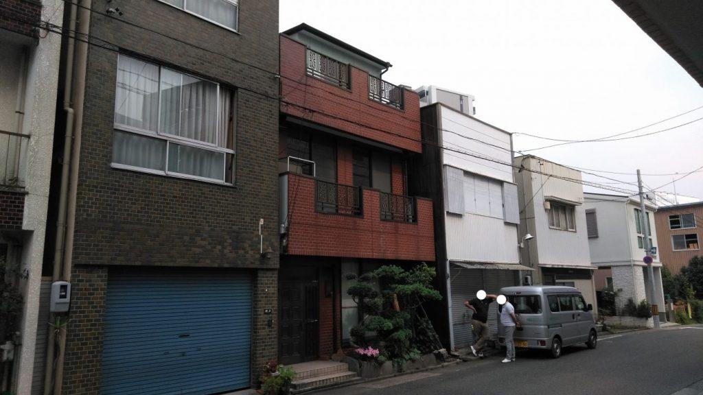 鉄骨造3階建住宅解体工事・名古屋市中区