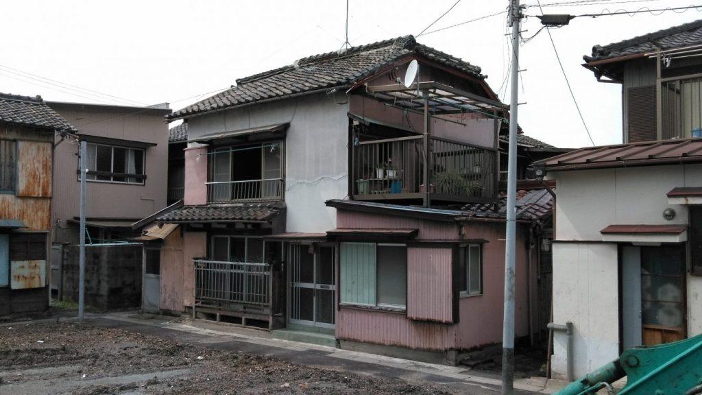 木造瓦葺2階建住宅解体工事・半田市栄町