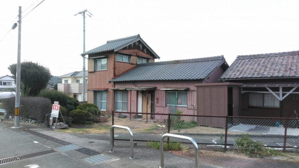 木造2階建住宅解体工事・知多郡武豊町長宗