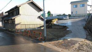 木造2階建住宅解体工事・知多郡阿久比草木