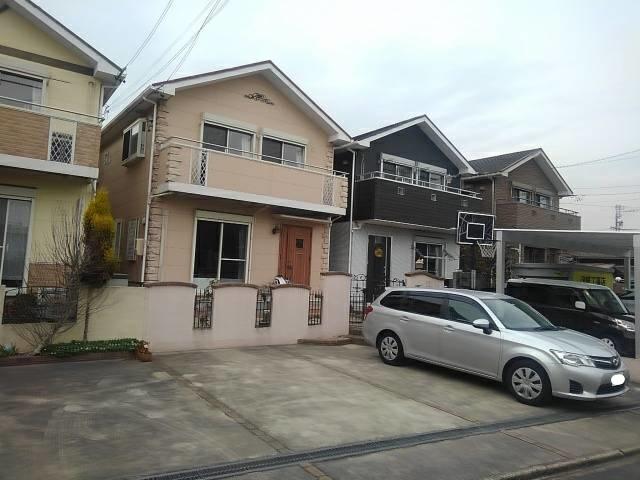 木造カラーベスト葺2階建住宅解体工事・知多市新知地内