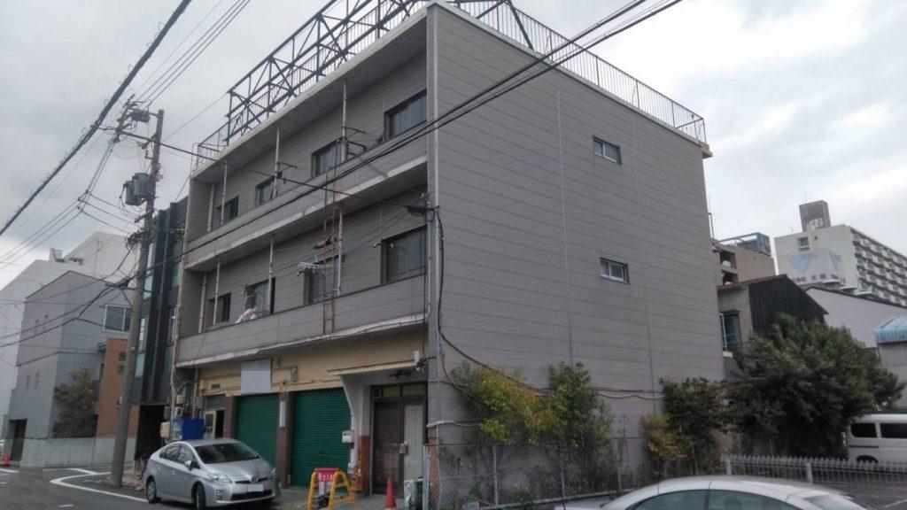 RC造3階建集合住宅解体工事・名古屋市中川区地内
