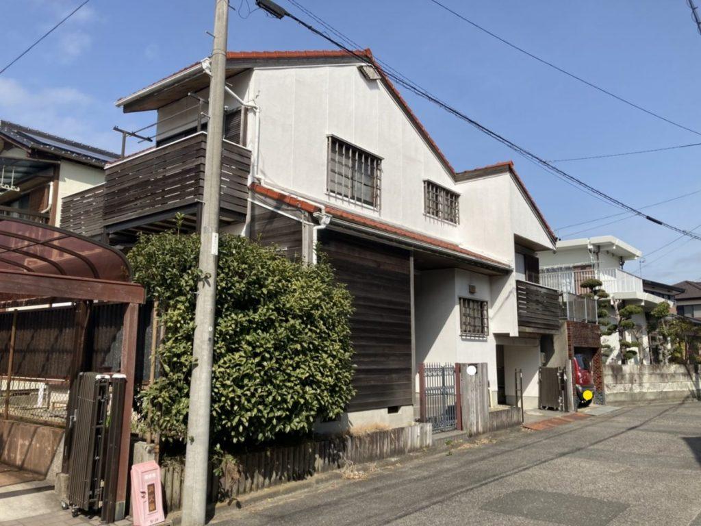 木造瓦葺2階建住宅解体工事・知多市地内